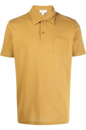 Sunspel Short-sleeved cotton polo shirt