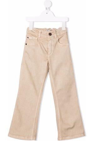 Brunello Cucinelli Straight-leg cotton jeans - Neutrals