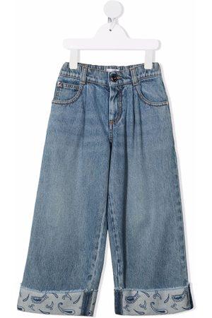 Brunello Cucinelli Straight-leg cotton jeans