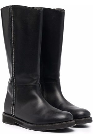 Brunello Cucinelli Leather tall boots