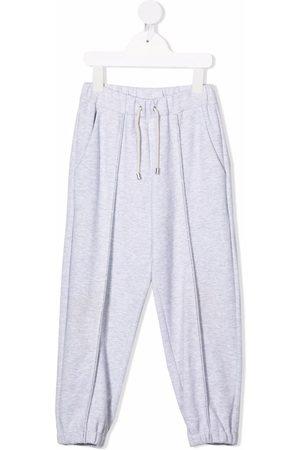 Brunello Cucinelli Drawstring-waist joggers - Grey