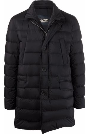 HERNO Padded button-up coat