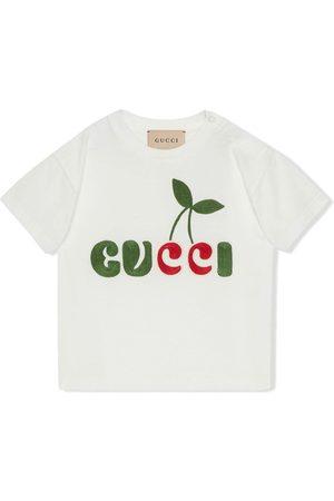 Gucci Kids GUCCI cherry-print T-shirt