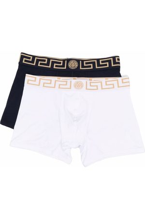 Versace Two-pack Greca-waistband boxers