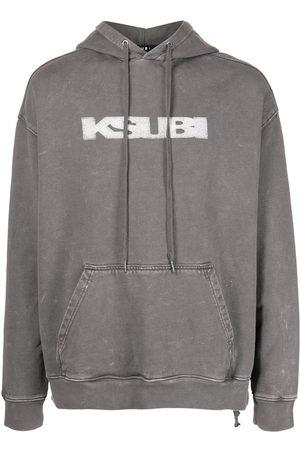 KSUBI Biggie cotton hoodie - Grey