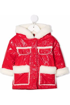 Moncler Long-sleeve hooded jacket