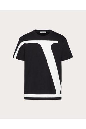 VALENTINO Men T-shirts - Vlogo Signature Cotton T-shirt Man / 100% Cotton 3XL
