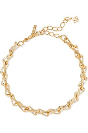 OSCAR DE LA RENTA Woman -tone Necklace Size