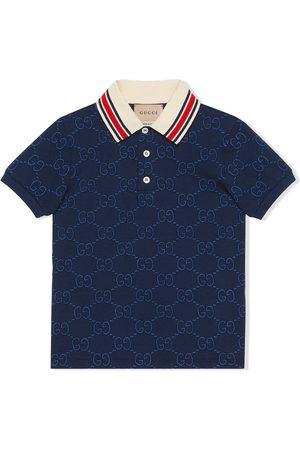 Gucci GG cotton polo shirt