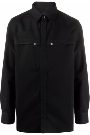 Givenchy 4G plaque shirt jacket
