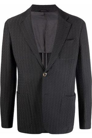 Armani Single-breasted tailored blazer