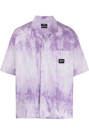 FIVE CM Tie-dye shortsleeved cotton shirt