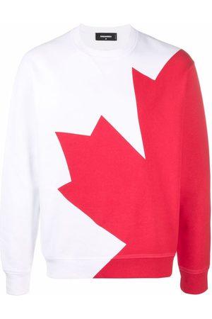 Dsquared2 Oversized maple leaf sweatshirt