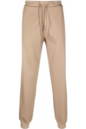 Lanvin Side stripe detail track pants - Neutrals