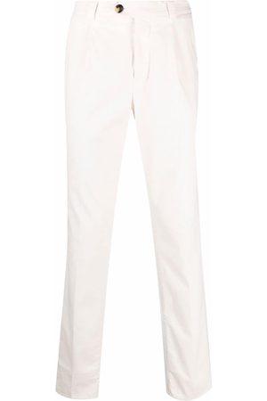 Brunello Cucinelli Cotton chino trousers - Neutrals