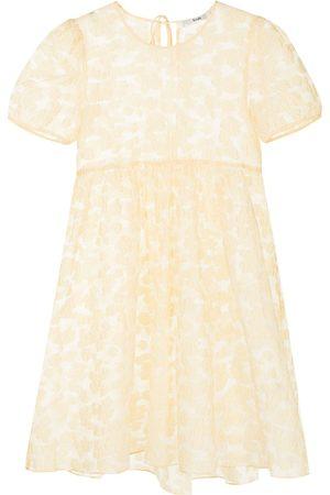 B+AB Textured layered smock dress