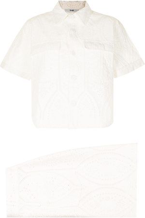 B+AB Embroidered two-piece set