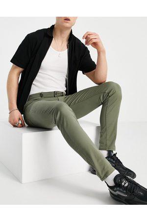 JACK & JONES Intelligence Liam skinny jean in khaki