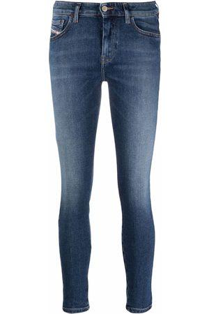 Diesel Slady cropped skinny jeans