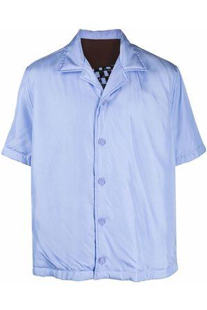 Bottega Veneta Car-print short-sleeve shirt