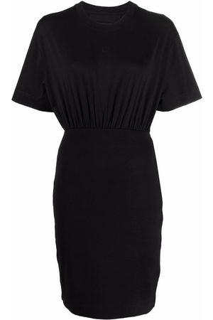 Givenchy 4G gathered-waist dress