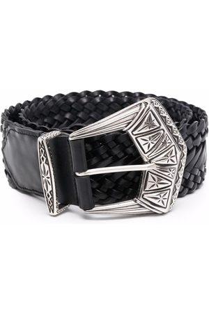 Etro Women Belts - Western-style buckle belt