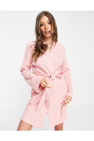 ASOS Waffle mini robe in