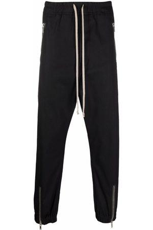 Rick Owens Zipped track pants