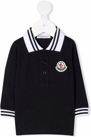 Moncler Logo-patch polo shirt