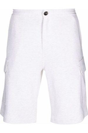 Brunello Cucinelli Jersey bermuda shorts - Grey