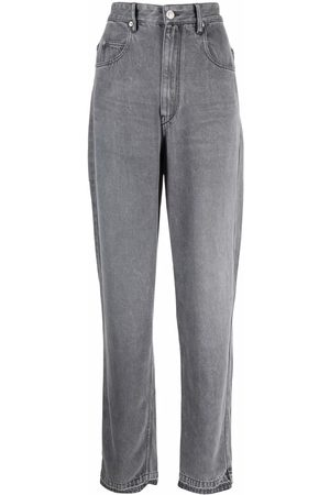Isabel Marant Étoile High-rise tapered jeans - Grey