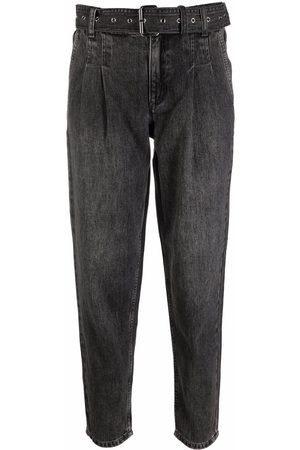 Michael Kors Belted-waist trousers - Grey