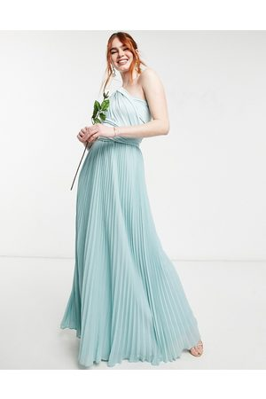 Oasis Bridesmaid multiway maxi dress in light blue