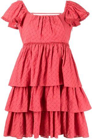 Cinq A Sept Ruffled-design dress