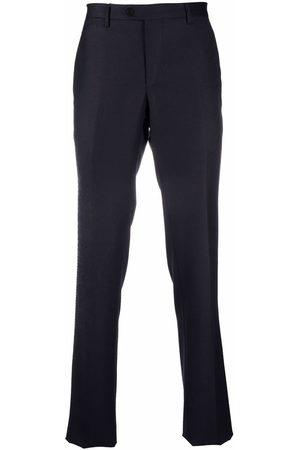 Etro Men Formal Pants - Straight-leg wool trousers
