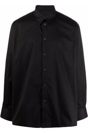 Givenchy Long-sleeved press-stud shirt