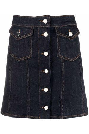 Love Moschino A-line denim skirt