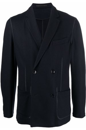 Armani Double-breasted cashmere blazer