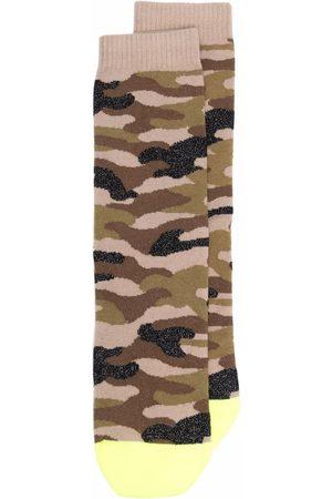 Golden Goose Socks - Camouflage-print socks