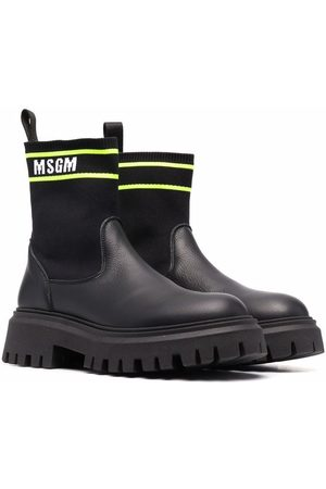 Msgm TEEN sock-style ankle boots