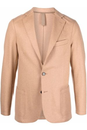 ELEVENTY Fitted single-breasted blazer - Neutrals