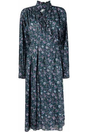 Isabel Marant Floral print midi dress
