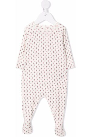 BONPOINT Timae grapes-motif pajamas