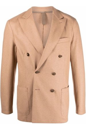 ELEVENTY Double-breasted tailored blazer - Neutrals