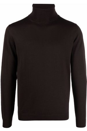 Roberto Collina Roll neck merino sweater