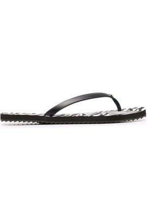 Michael Kors Zebra-print flip flops