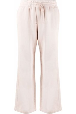 Vince Drawstring straight trousers - Neutrals