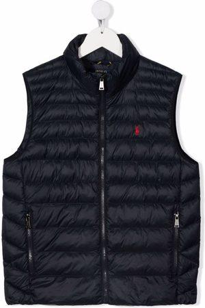 Ralph Lauren Polo Pony-motif quilted vest