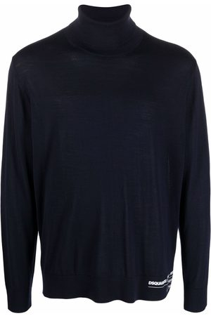 Dsquared2 Logo-print roll neck sweater