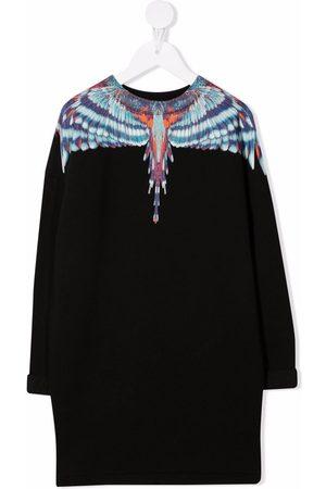 MARCELO BURLON Wings-print dress